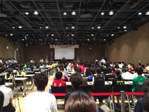 第35回全日本珠算技能競技大会 開会式